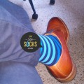 blue socks, blue stripes socks
