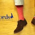 soxfords, man socks, socks, dotted socks, brown shoes